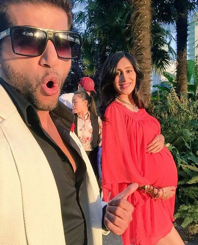 Karanvir Bohra blessed with TWINS…