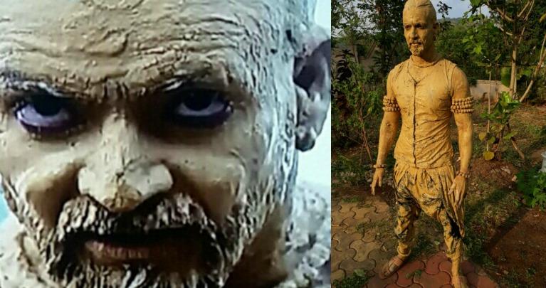 Vineet Raina's 15 kg 'Mud Bath' on the sets of Kaala Teeka!