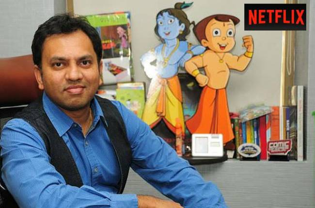 Mighty Little Bheem is India's first Netflix series, sans dialogues – Rajiv Chilaka