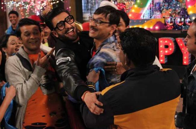 When Ranveer Singh surprised Gokuldham Society members in Taarak Mehta
