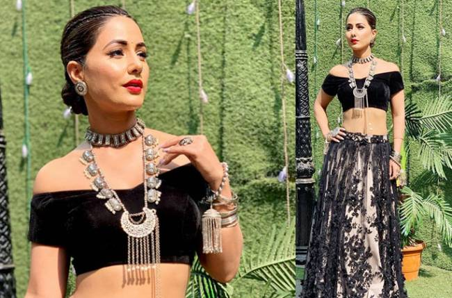 When Hina Khan donned the attire of a bride for the cover shoot of a magazine
