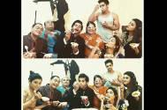 Karanvir's mom TREATS Qubool Hai team