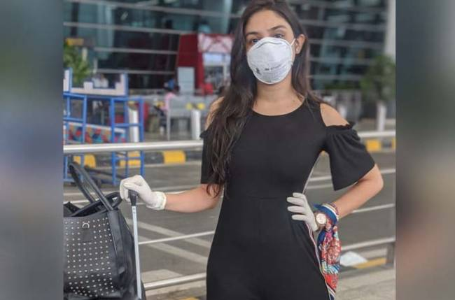 Donal Bisht returns back to Mumbai to resume shoot for her web series The Socho Project