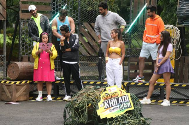 India Ki Farmaaish! Viewers send a request for contestants to do some quirky tasks on COLORS' Khatron Ke Khiladi: Made in India